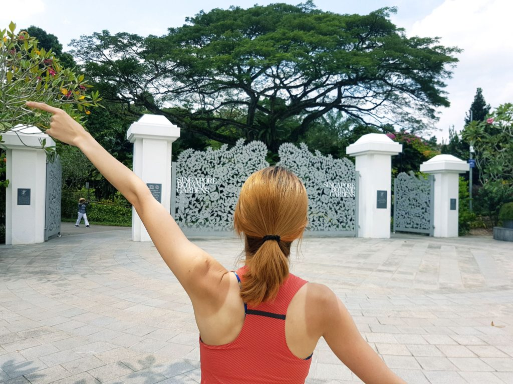 Singapore Botanic Gardens Challenge