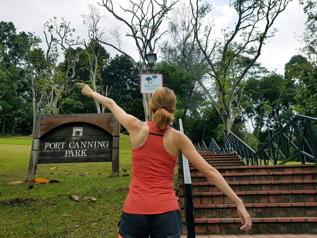 Fort Canning Challenge