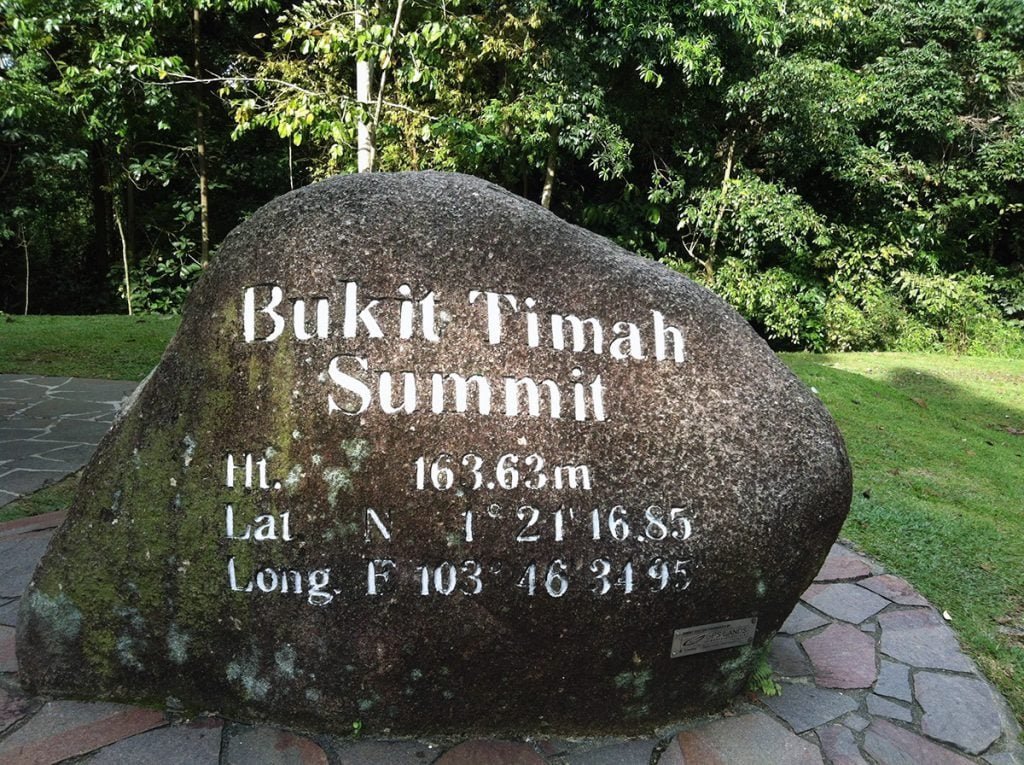 Bukit Timah Hill Summit Challenge