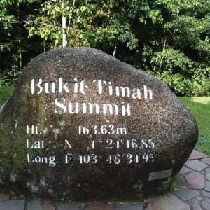 Bukit Timah Hill Summit